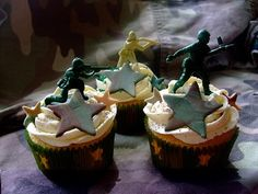Colourful Cupcakes of Newbury: Army/Boot Camp Cupcakes!