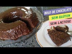 Bolo de Chocolate   Sem Gluten Sem Lactose   Por Priscila Castro - YouTube