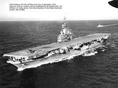 U.S.S. Oriskany - While in the Navy, my Dad was stationed on this aircraft carrier during the Korean War.
