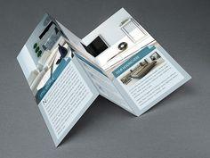 Tri Fold Interior Brochure Template on Behance