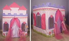 """Lots of """"fort"""" ideas for your card table!!  LOVE it!!  I just hope my kids stay little longer."""
