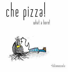 Learning Italian Language ~ CHE PIZZA!