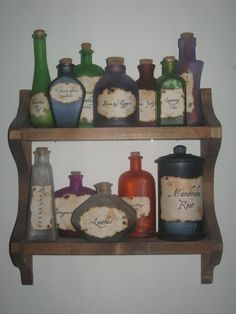 Harry Potter Potions...this would be cute for a HP themed nursery or maybe party or baby shower...