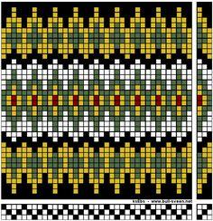 Åkle-mønster – Vevstua Bull-Sveen