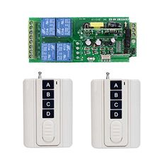 Lejin AC 85V-250V 4 channels 433MHz RF remote control system wireless lighting switch learning code receiver remote control roller shutter winch. For product info go to:  https://www.caraccessoriesonlinemarket.com/lejin-ac-85v-250v-4-channels-433mhz-rf-remote-control-system-wireless-lighting-switch-learning-code-receiver-remote-control-roller-shutter-winch/