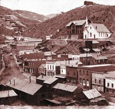 Blackhawk Colorado ~ 1870 One of the first gold mining towns in Colorado.