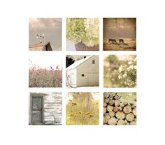 Farmhouse Home Decor Set Rustic Country Living by semisweetstudios