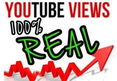 YOUTUBE 50.000 video views + 4.000 video vieves free