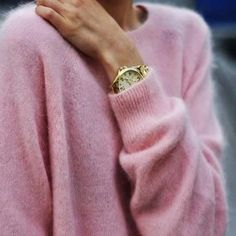 Pink // mohair - oh love this, wear this all the time, - soft - warm - beautiful color