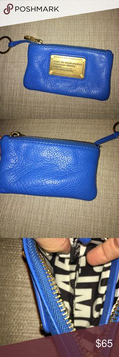 Marc by Marc Jacobs Key Coin Pouch Classic Q Used, in great condition! Fits cards and everything. I'll consider offers! Marc by Marc Jacobs Bags Wallets