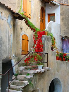 Croatio - Another bucket list trip!  Home Entrance in the City of Baska on the Isle of Krk, Croatia