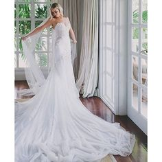 We can't stop our jaws from dropping at the sight of this beauty by Photo: 2016 Wedding Trends, Pallas Couture, Strictly Weddings, Wedding Gowns, Wedding Shoes, Dream Wedding, Beautiful Gowns, Marie, Bridal