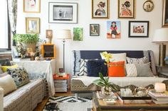 House Tour: A Designer's Romantic & Worldly Apartment | Apartment Therapy