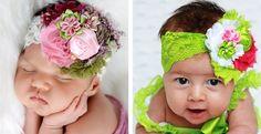 Sallyannasunshine's signature Large Shabby Headbands with lots of new choices!