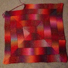 Ravelry: Project Gallery for Tunisian Crochet Ten Stitch Blanket pattern by Dedri Uys