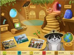 So smart: The Ranger Rick Tree House app for iPad which actually encourages kids to get outside.