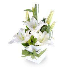 White flowers..