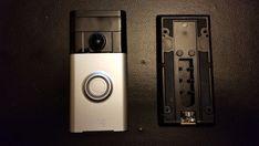 RING Wireless VIDEO DOORBELL WiFi Smartphone Night Vision #RING