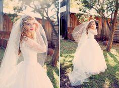 vintage bohemian bride:: this dress <3