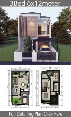 Home design plan with 3 Bedrooms - Home Design with Plansearch Home design plan with 3 BedroomsHouse description:One Car Parking and gardenGround Level: Living room, Dining room, Kitchen, Storage, 2 Storey House Design, Simple House Design, Bungalow House Design, House Front Design, Minimalist House Design, Modern House Design, Narrow House Plans, Duplex House Plans, House Layout Plans
