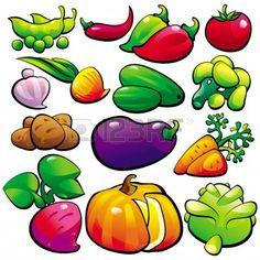 Mejores 28 Imagenes De Dibujos De Verduras En Pinterest Fruit And