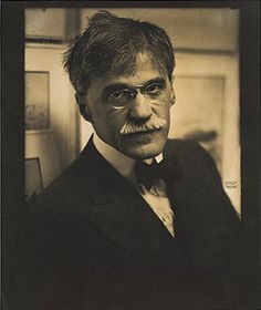 Alfred Stieglitz, 1915 The phenomenal photographer of the twentieth century and the husband of Georgia O'Keefe. His photos were the first to ever be shown in an American Art Museum and recognized as an art form.
