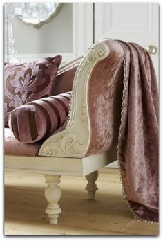 Like the grey and mauve, bedroom colors?