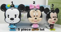 Cartoon 5 piece lot mickey compact mirror great for diy bling deco Compact Mirror, Mirrors, Craft Supplies, Mickey Mouse, Bling, Cartoon, Deco, Disney Characters, Crafts