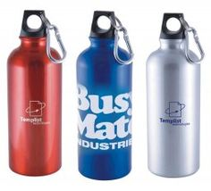 Shop for custom printed promotional Adventurer Aluminium Water Bottle to promote your brand. You can grabe this personalised bottle from Vivid Promotions Australia at reasonable cost. Supplied with hiking lid and carabiner clip - attaches easily to your belt or backpack. This water bottle For use with cold liquid only. Customised promotional Adventurer Aluminium Water Bottle available at low cost of $6.49 per piece for 100 bottles. #PlasticSportsBottles #promotionalgiveaways…