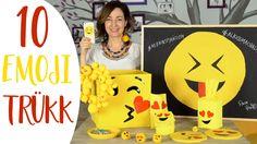 EMOJIS VIDEÓ?!?  10+1 Kreatív Emoji Trükk! - INSPIRACIOK.HU   Csorba Anita