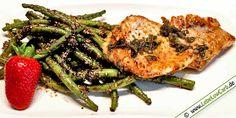 Low Carb Rezept: Marinierte Bohnen mit Rotbarschfilet aus der Kategorie: Fischgerichte