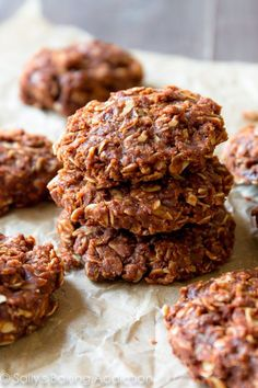 Give the oven a break! Whip up a batch of these super simple, no-fuss chocolate peanut butter no-bake cookies. They're addictive!