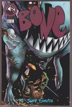 1997 CB Cartoon Books BONE #21 comic book JEFF SMITH