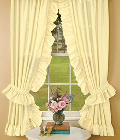 bedroom on pinterest country curtains ruffles and