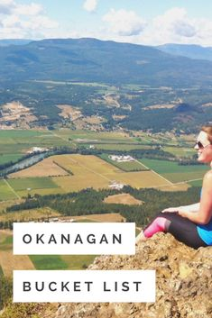 The Okanagan is a hub of wonderful outdoor adventures. We've gathered our favourite destinations for the ultimate Okanagan bucket list that'll keep you exploring all year. Explore the many hikes of Kelowna, Penticton, and Osoyoos, then stand under the beautiful waterfalls of the Central and North Okanagan. There are lots of fun things to do in the Okanagan and we want you to experience them! #bucketlist #okanagan