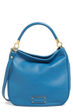 Free shipping and returns on MARC BY MARC JACOBS 'Too Hot to Handle' Hobo at Nordstrom.com. A signature logo plate anchors the base of a gorgeously grained hobo cut with a clean and curvy silhouette.