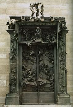 Gates of Hell - Rodin, Paris, France