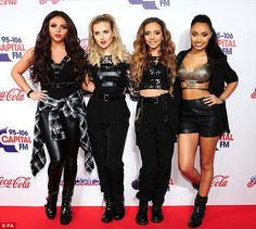 The girls looking gorgeous at the Jingle Bell Ball Awards! They are performing as well! Whos outfit and hair are your favorites? I love Leighs and Perries hair and Jesy and Jades outfits! :) xx