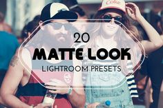 20 Matte Look Lightroom Presets by @Graphicsauthor