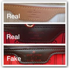 how to spot a fake LOUIS VUITTON - Google Search
