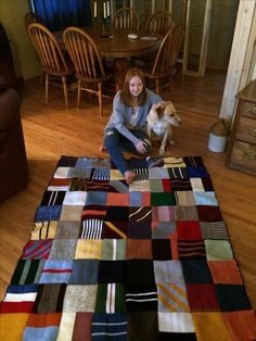 Kally's Ron Weasley blanket!