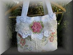 Pretty crochet purse.