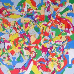 "Saatchi Art Artist Cora Vidal; Painting, ""No title."" #art"