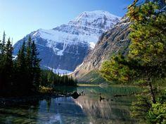Mount Edith Cavell, Jasper National Park, Alberta, Canada - Pixdaus Süper........
