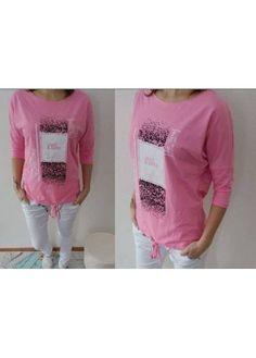 Krásná mikina s 3/4 rukávem - vepředu na stažení tkaničkou Panda, Graphic Sweatshirt, T Shirts For Women, Sweatshirts, Sweaters, Tops, Fashion, Moda, Hoodies