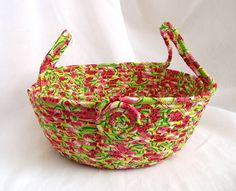 Watermelon Bread Basket  Handmade Watermelon by WexfordTreasures, $ 24.99