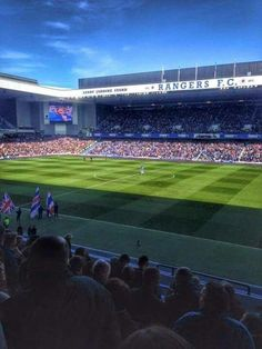 Ibrox in the sun ♥ the greatest sight that I have ever seen ★★★★★