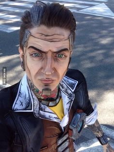 My attempt on a Handsome Jack cosplay from Borderlands 2, hope you guys like it!