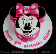Minnie Mouse Birthday Cake by thecustomcakeshop, via Flickr