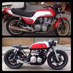 Make your own cafe racer